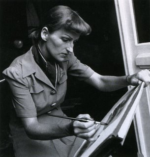 At the Drawing Desk of Mary Blair