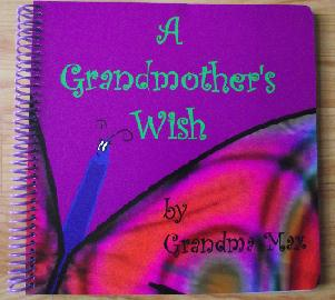 "Cover Art of ""A Grandmother's Wish"""