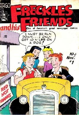 "Merrill Blosser's ""Freckles and His Friends"" Comic"