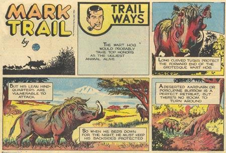 "Ed Dodd's ""Mark Trail"" sample"